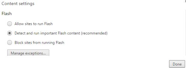 Flashplayer Allow
