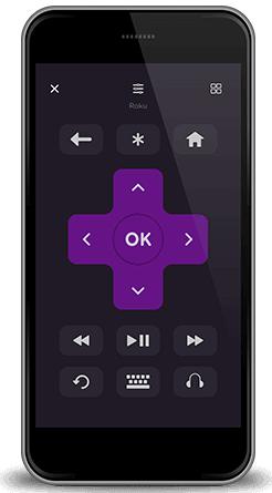 How to use mobile on DirecTV Roku Image